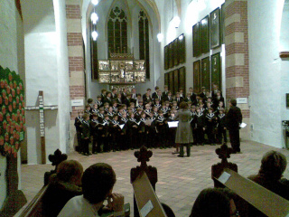 Der Thomanerchor in der Thomaskirche