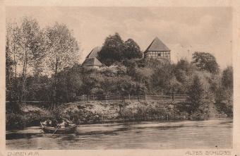 Burg Düben um 1940, Postkarte im Besitz des Autors. (5)
