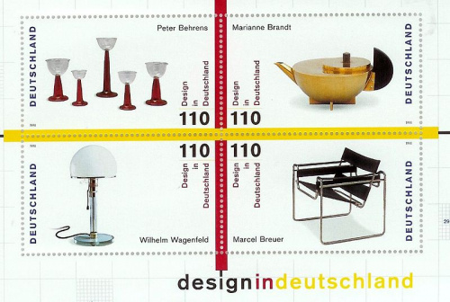 Bauhaus designs on german postage (2)